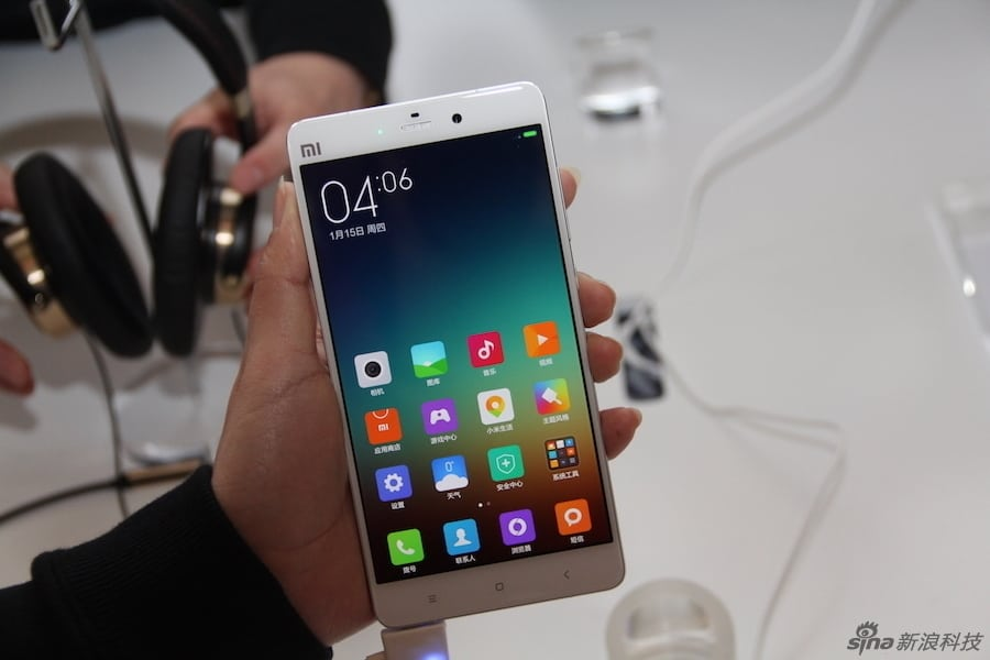 Xiaomi Mi Note and Mi Note Pro hands on Sina Technology 5