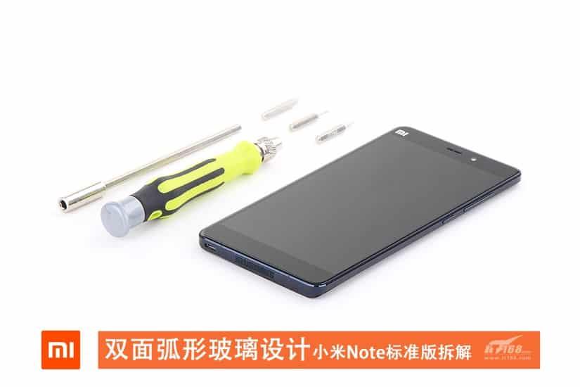 Xiaomi Mi Note teardown 1