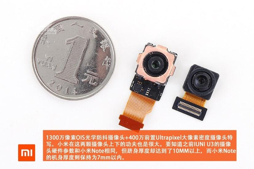 Xiaomi Mi Note teardown 14