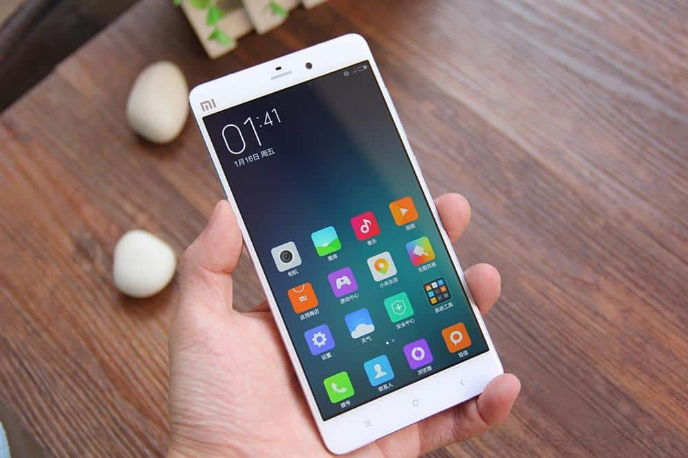 Xiaomi Mi Note unboxing China 4