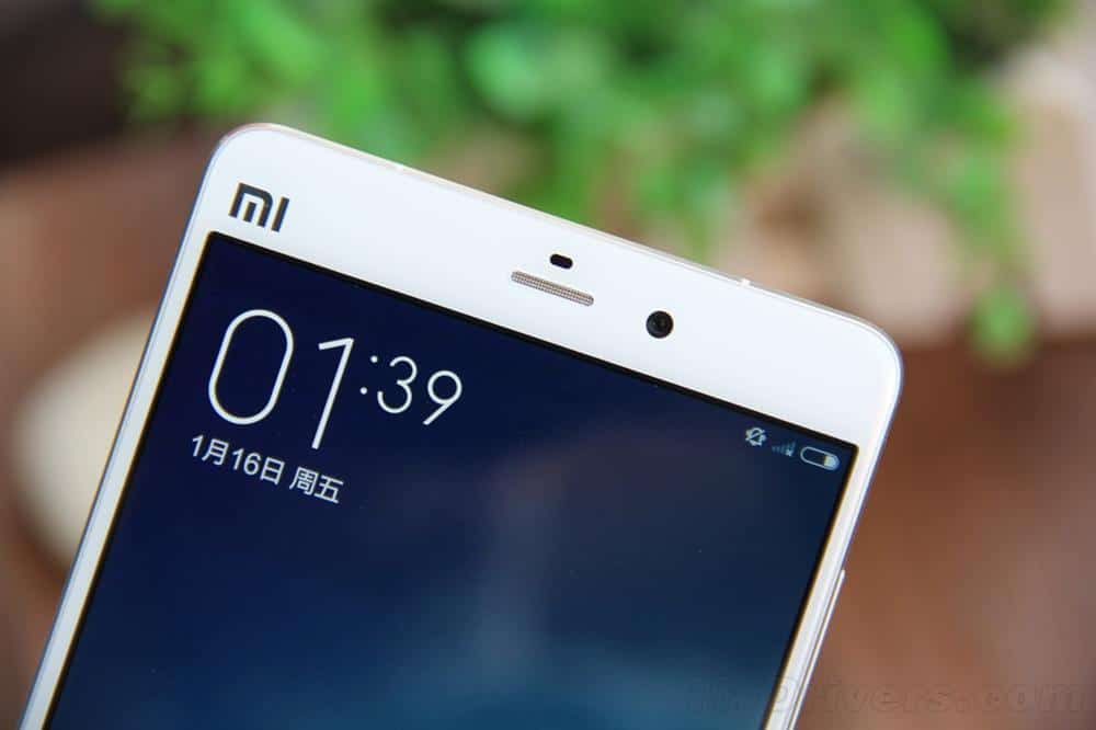 Xiaomi Mi Note unboxing China 7
