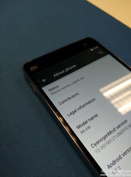 Xiaomi Mi4 CM12 Lollipop leak_1