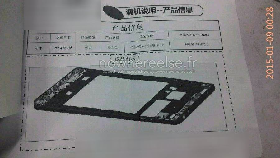 Xiaomi Mi5 chassis_1
