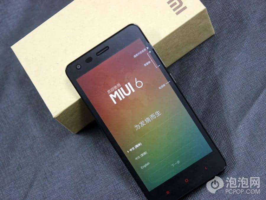Xiaomi Redmi 2 unboxing China 13