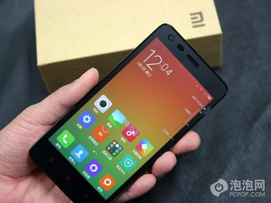 Xiaomi Redmi 2 unboxing China 14