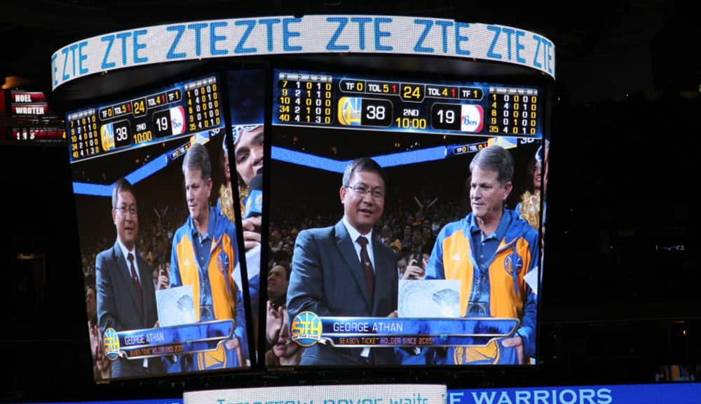 ZTE and NBA