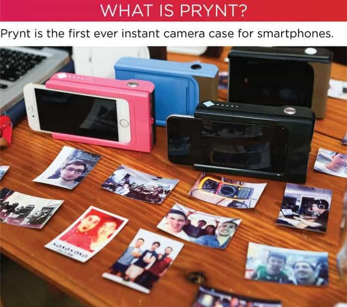 Prynt case camera module