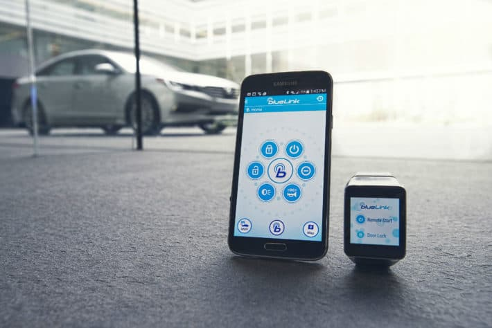 Hyundai Auto To Debut New Generation Blue Link With Remote Voice Control Via Android Wear