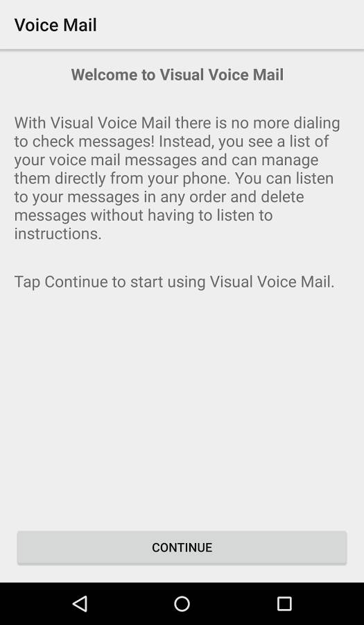 Motorola launches visual voicemail app so you can see the voicemails if you have a verizon wireless motorola device give the install a try and see how you like it m4hsunfo