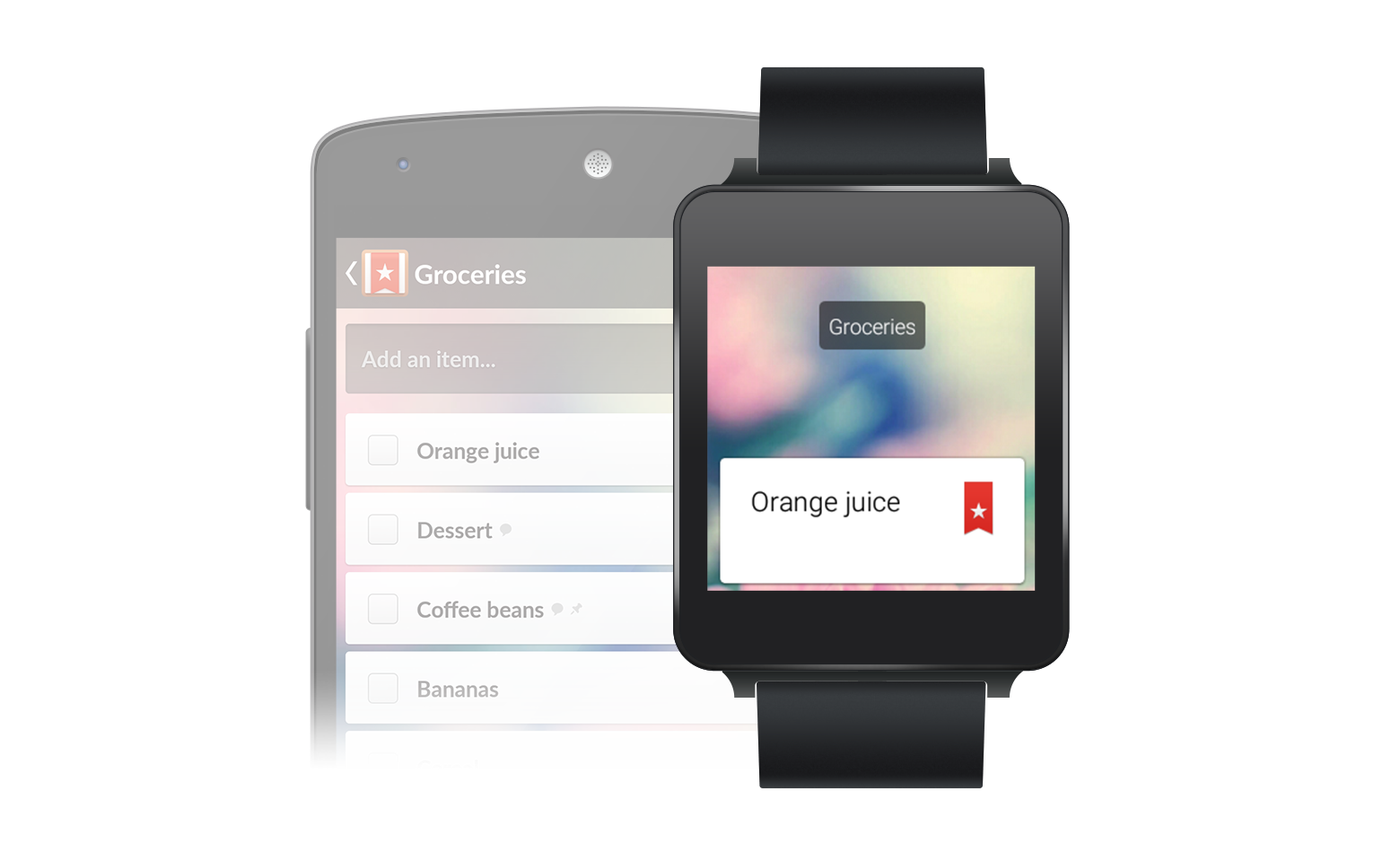 wundelist android wear