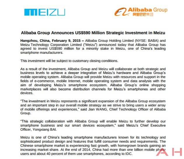 Alibaba's Meizu investment_wm