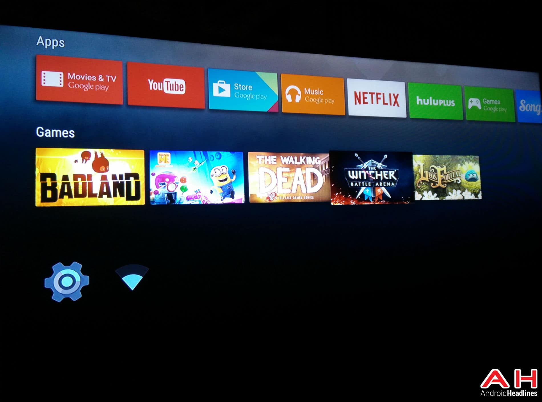 Android TV Games AH