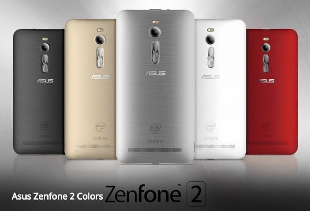 Asus ZenFone 2_colors