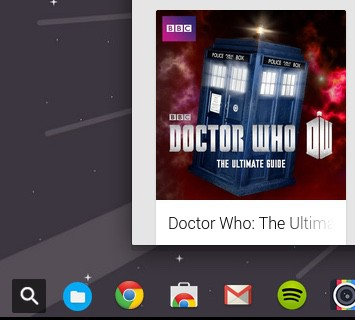 Chrome OS launcher change
