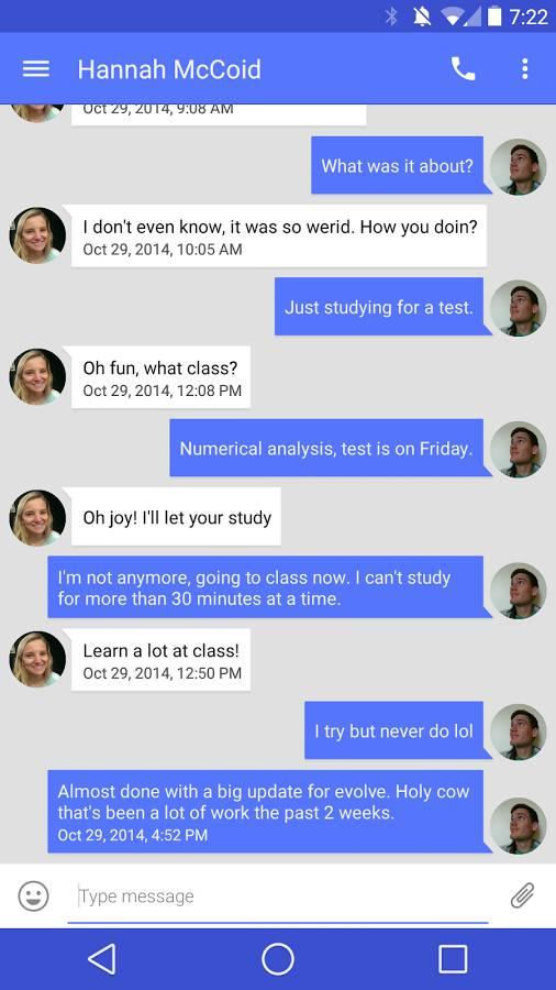 Evolve SMS