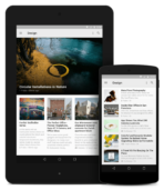 Feedly tablet phone