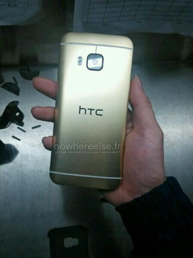 HTC One M9 2015 Coque Or 01
