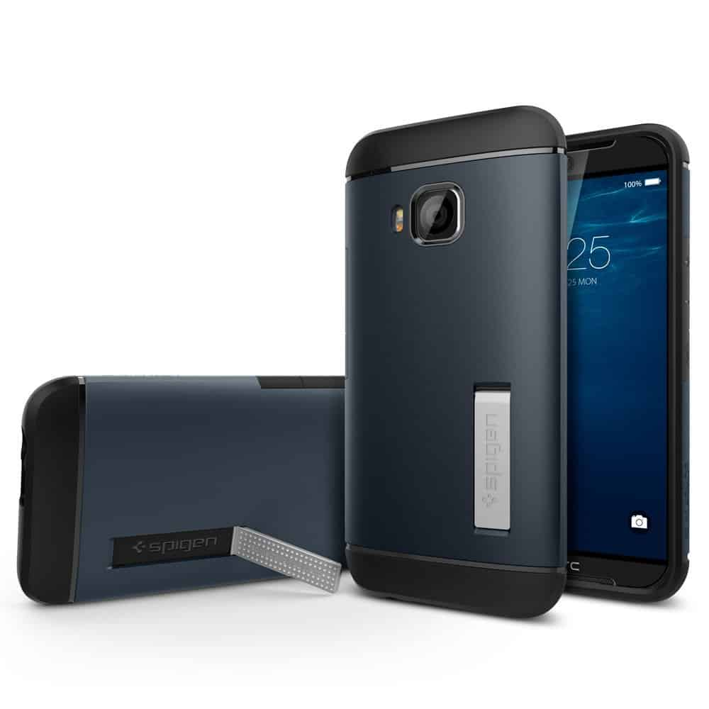 HTC One M9 pre launch Amazon listing Spiegen case