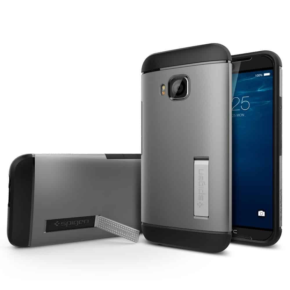 HTC One M9 pre launch Amazon listing Spiegen case 2