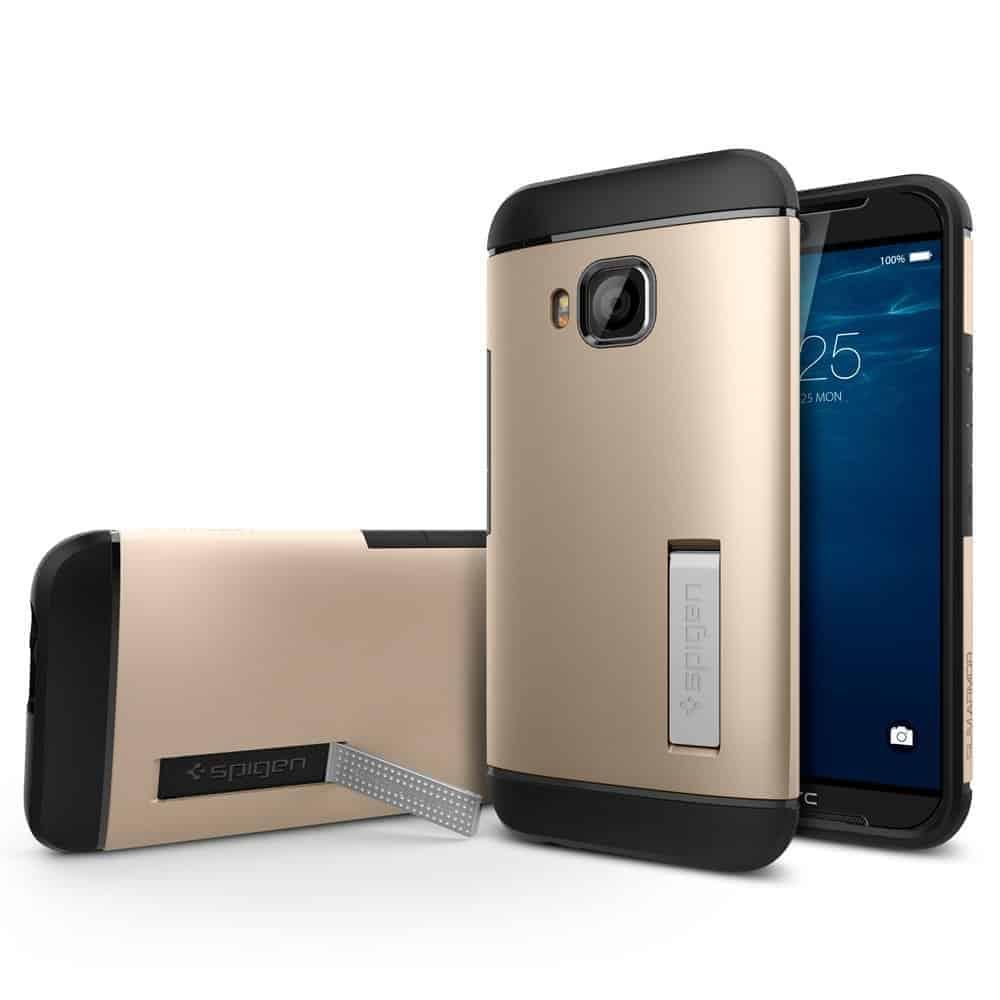 HTC One M9 pre launch Amazon listing Spiegen case 3