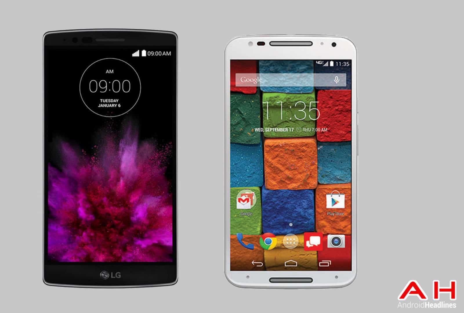 LG G Flex 2 vs Moto X cam AH