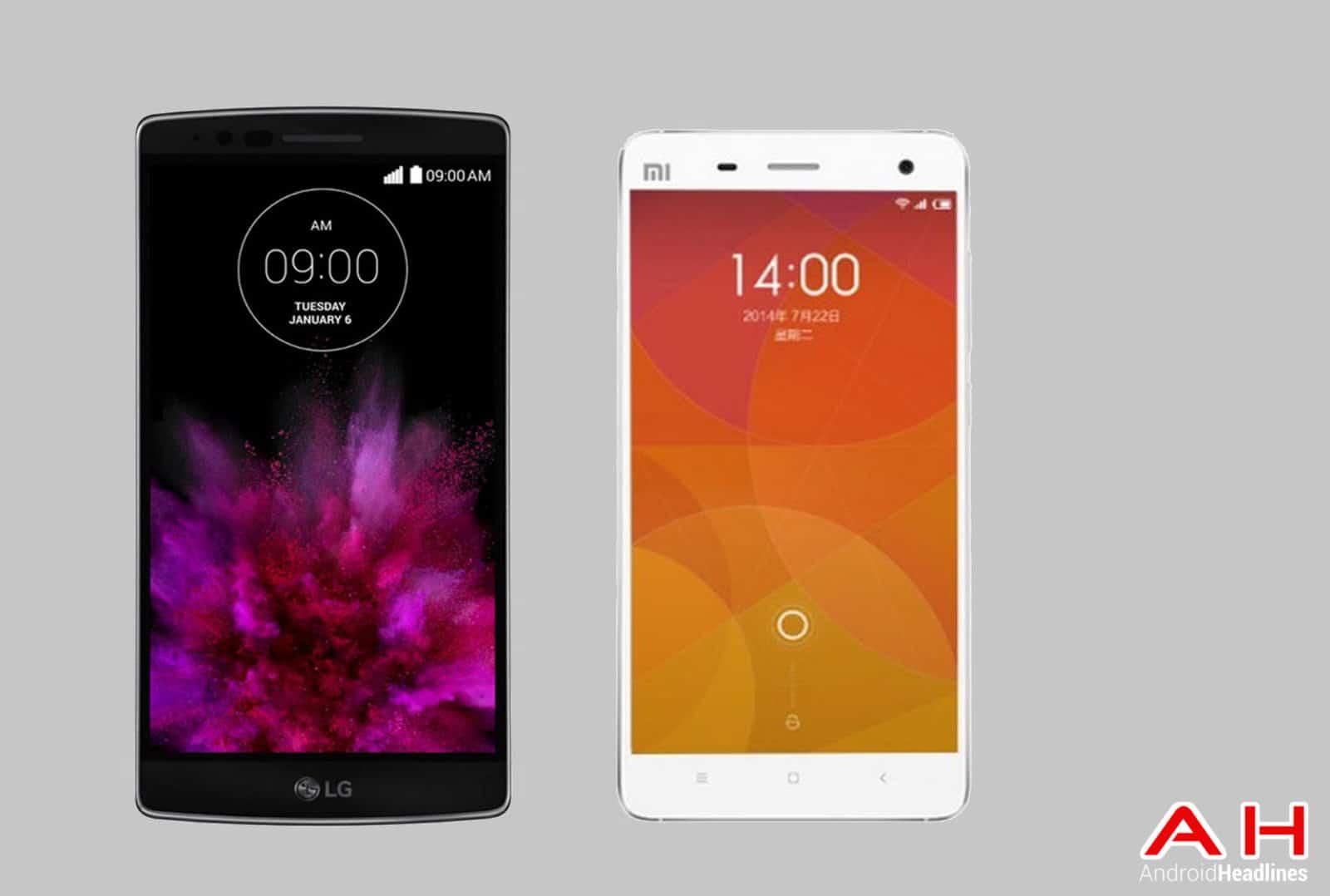 LG G Flex 2 vs Xiaomi Mi4 Pro cam AH