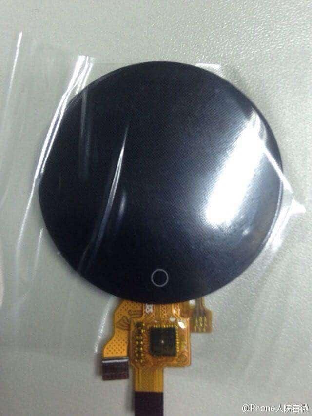 Meizu round smartwatch leak