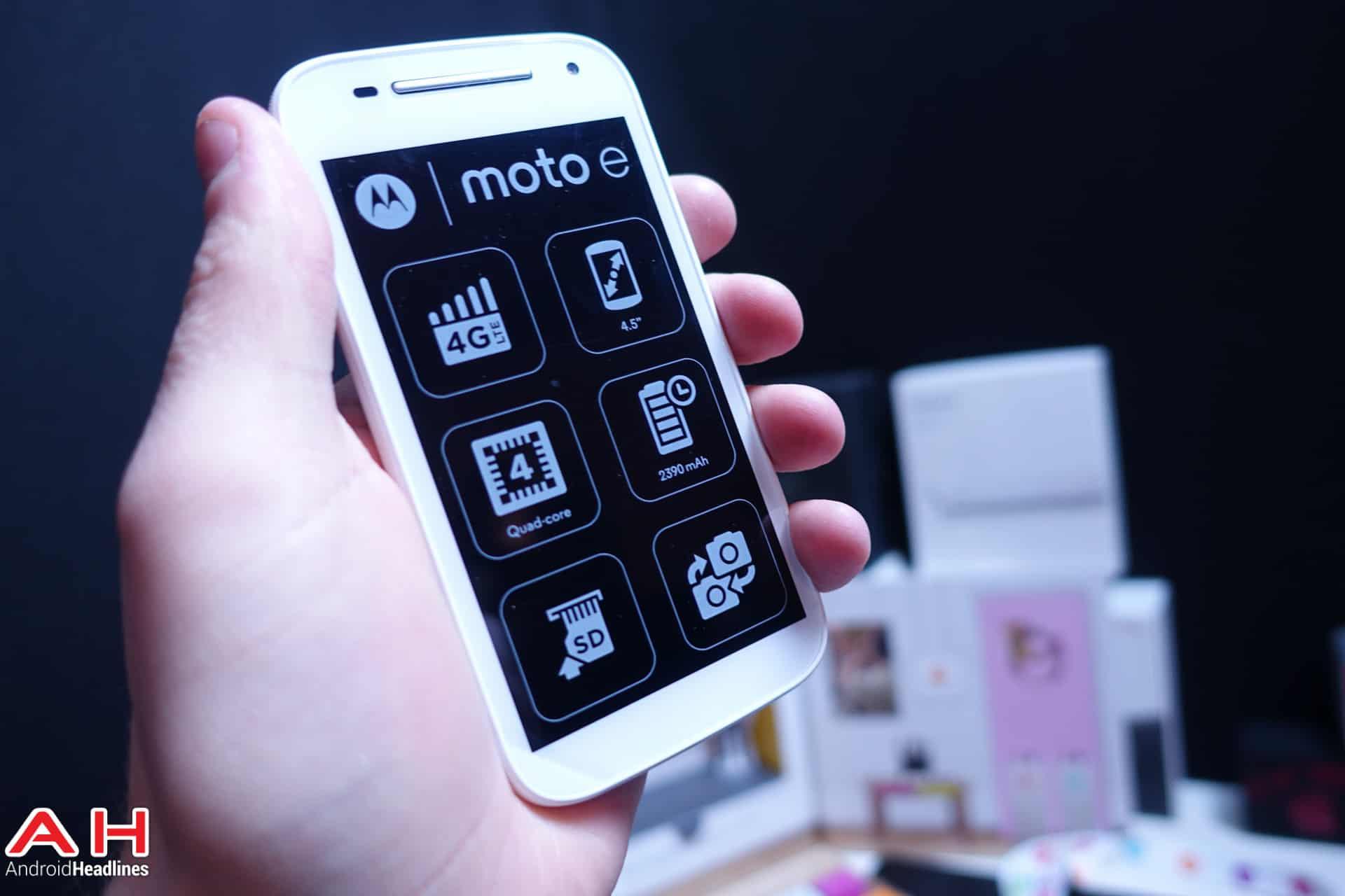 Moto E 4G LTE AH 03952