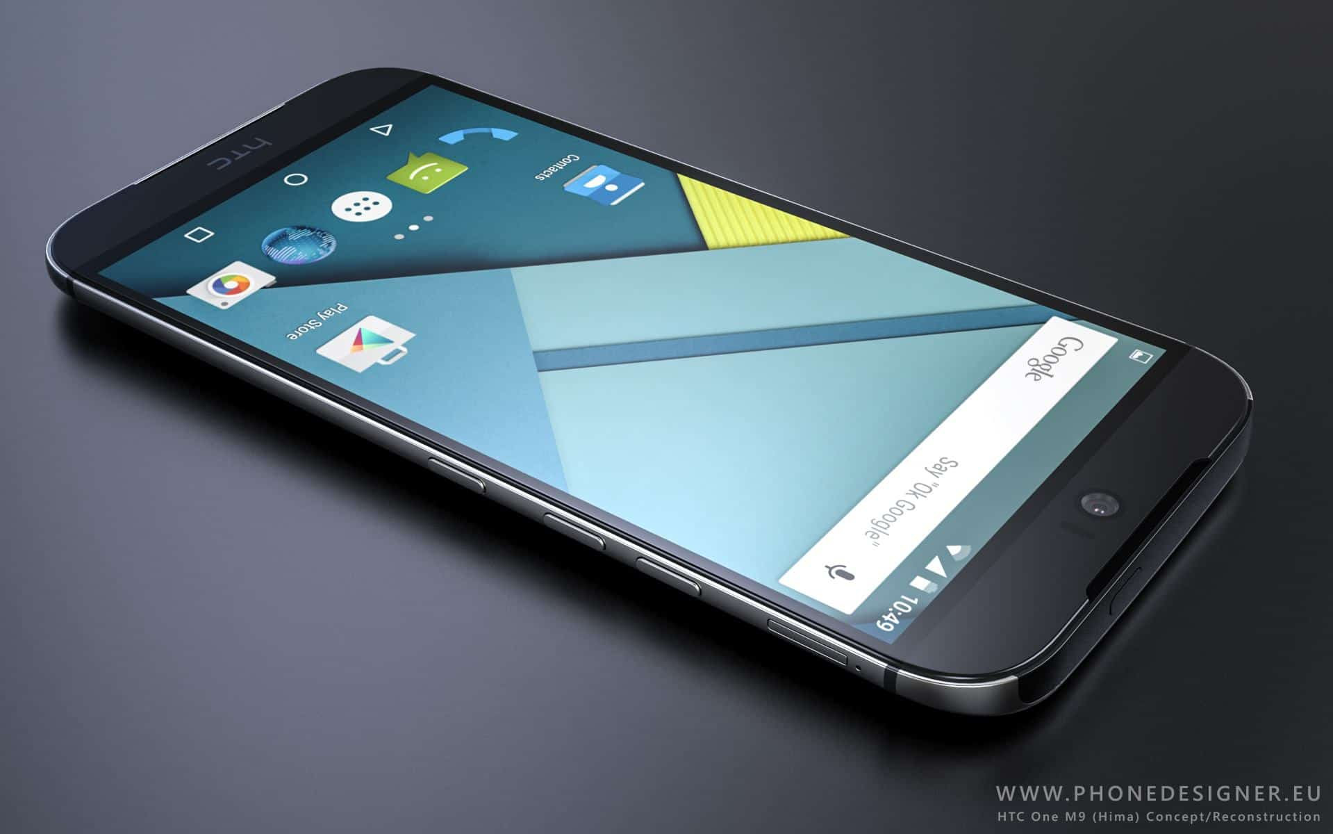 htc 2015. these htc one m9 concept renders look stunning; show off sleeker design htc 2015