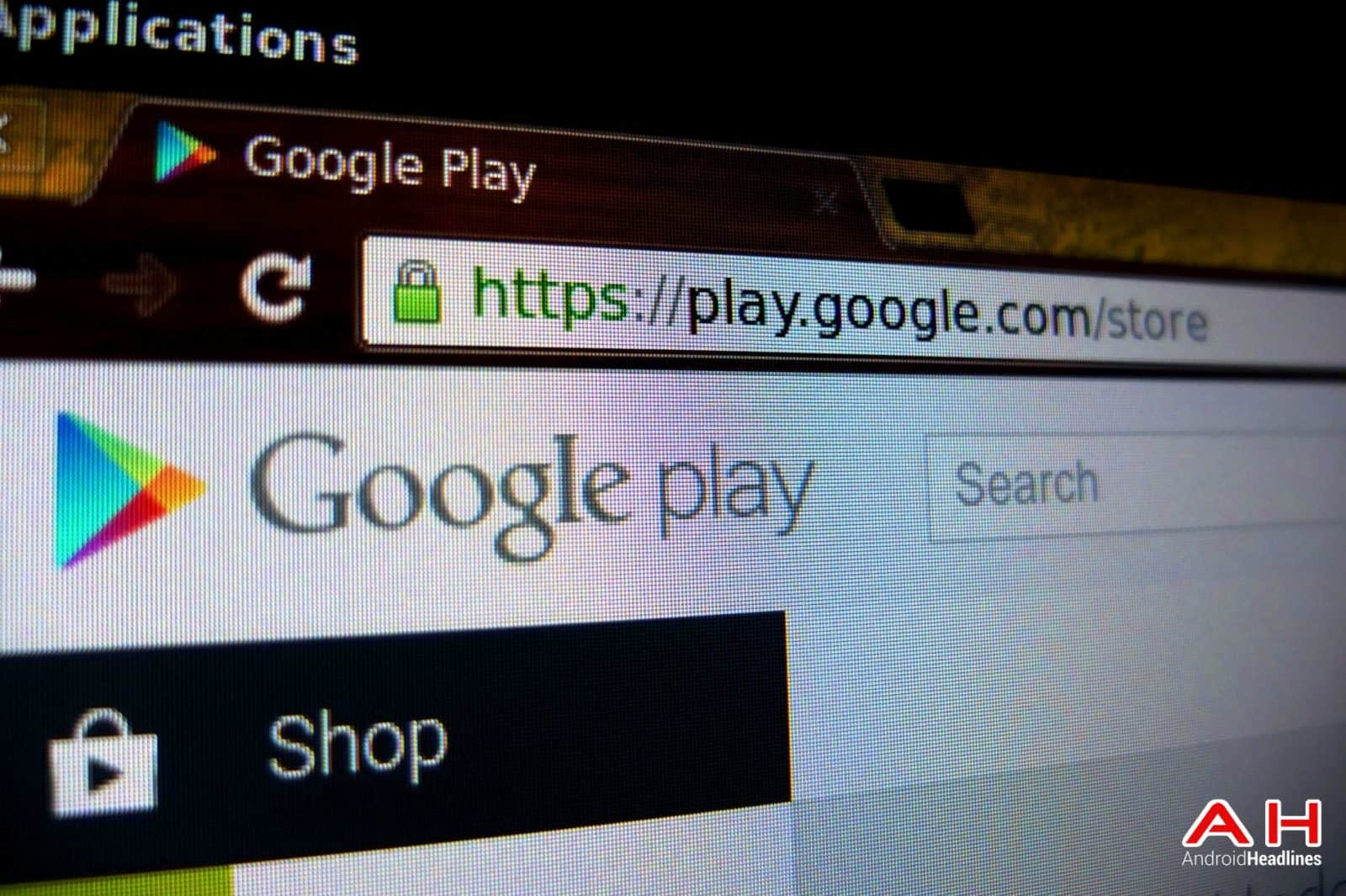 Play Store Desktop AH 1