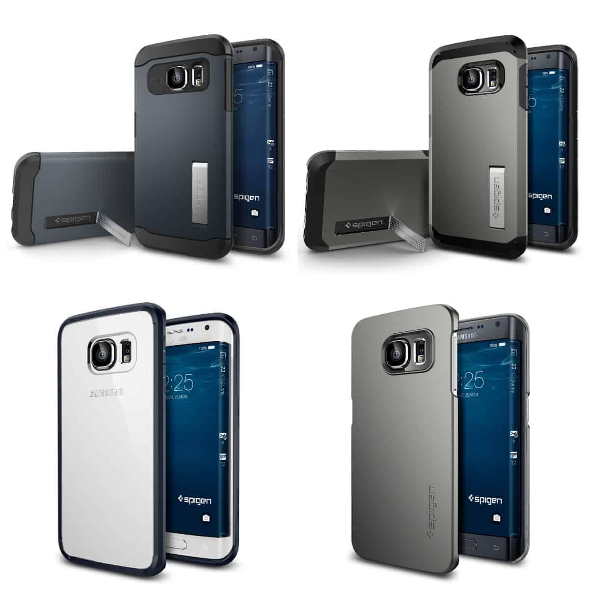 Samsung Galaxy S6 Edge Spigen case pre-launch