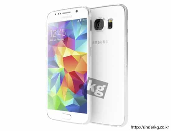 Samsung Galaxy S6 leaked render 11