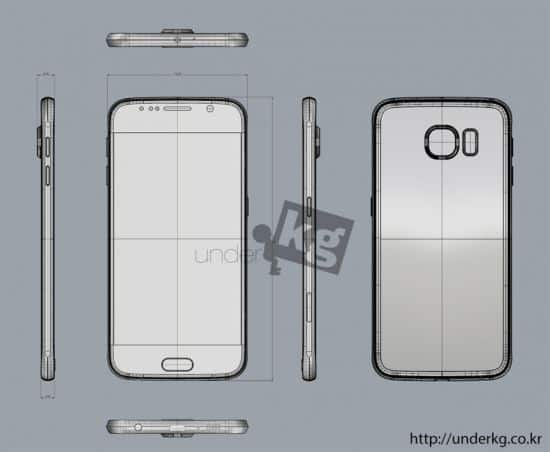 Samsung Galaxy S6 leaked render 13