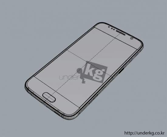 Samsung Galaxy S6 leaked render 14