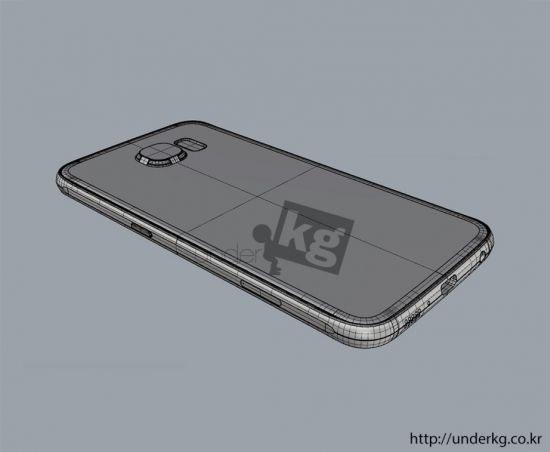 Samsung Galaxy S6 leaked render 15