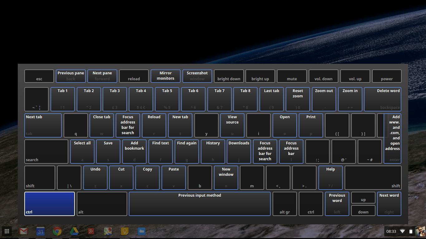 Google's Interactive Keyboard Chromebook Guide