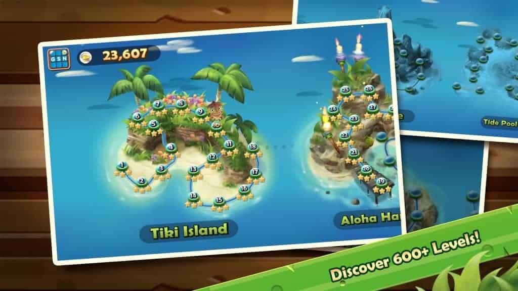 Solitaire TriPeaks Screen Shot 02