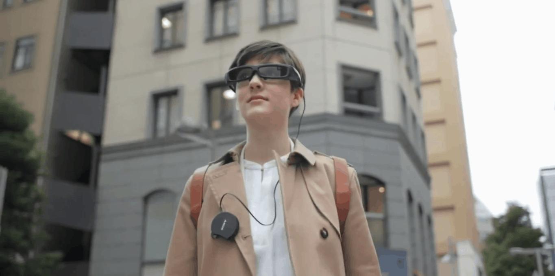 Sony SmartEyeglass promo video