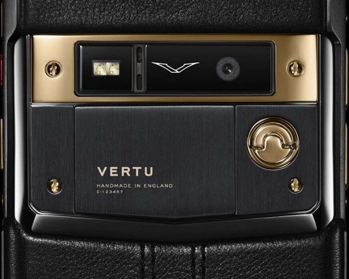 Vertu Pure Jet Gold 4