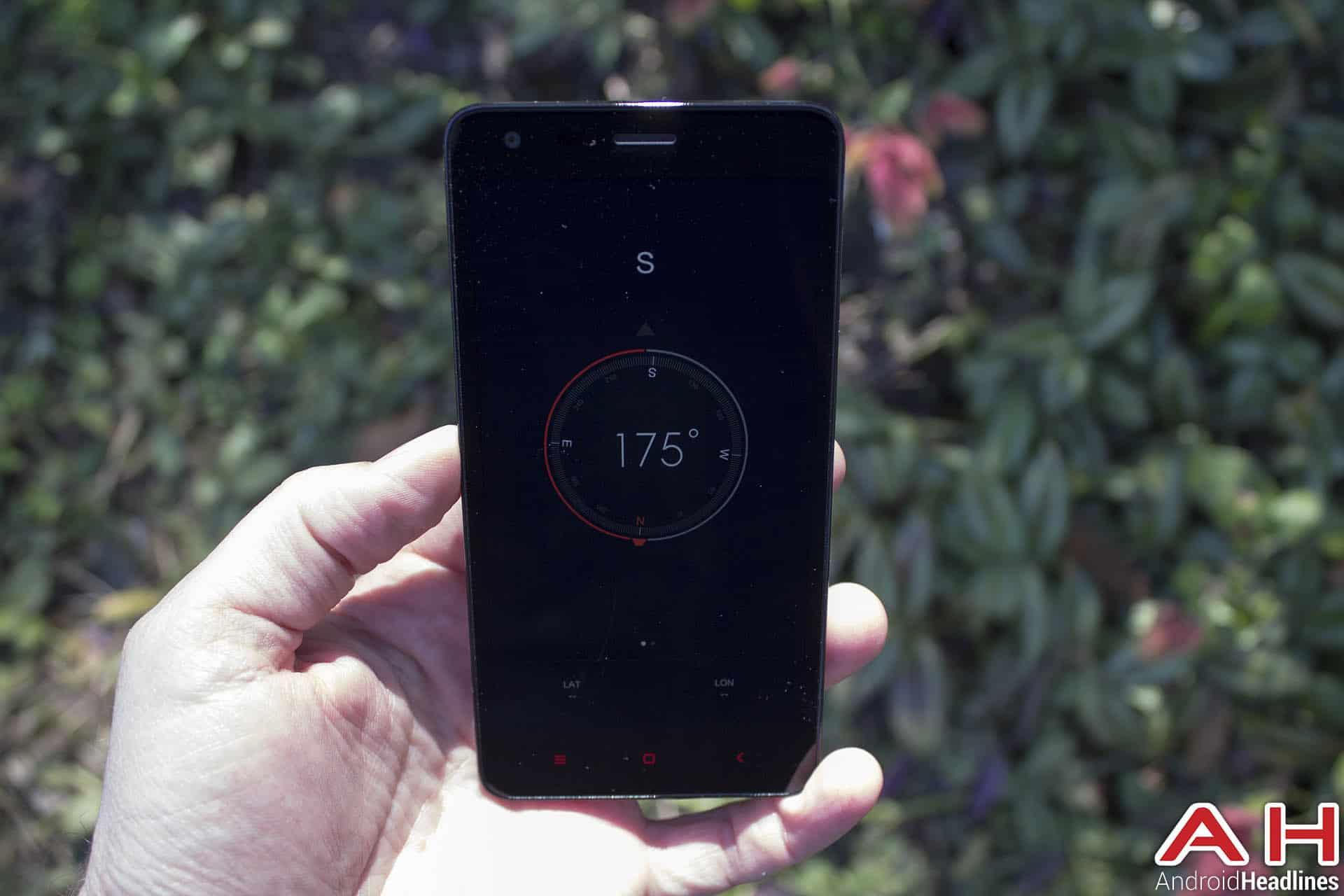 Xiaomi Redmi compass down