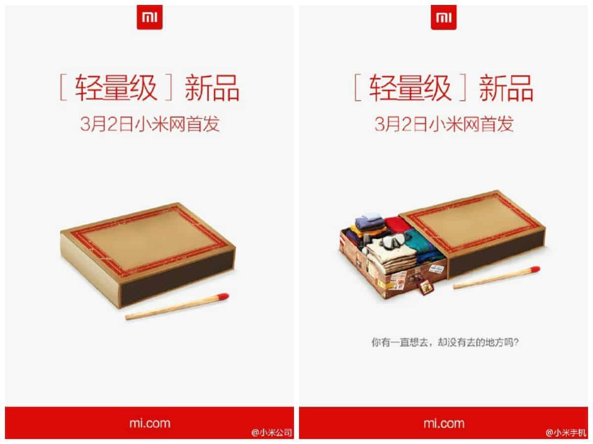 Xiaomi matchbox teaser