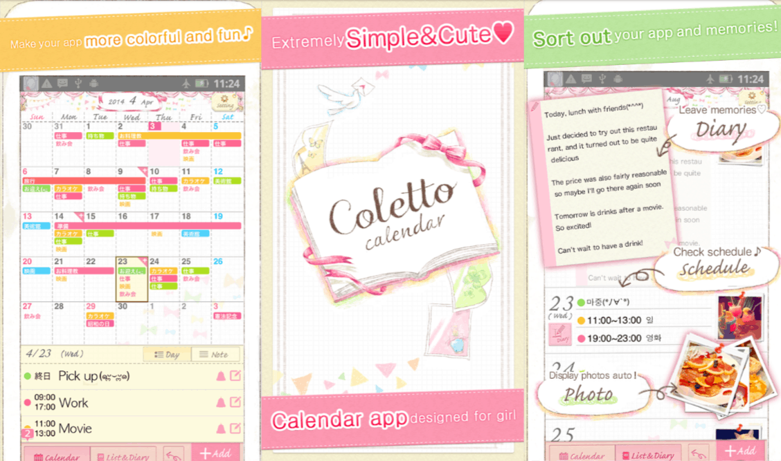 cute monthly planners