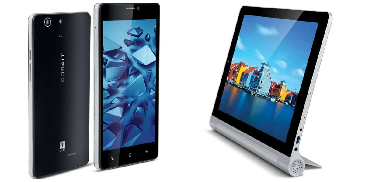 iBall smartphone and tablet launch Feb 2015