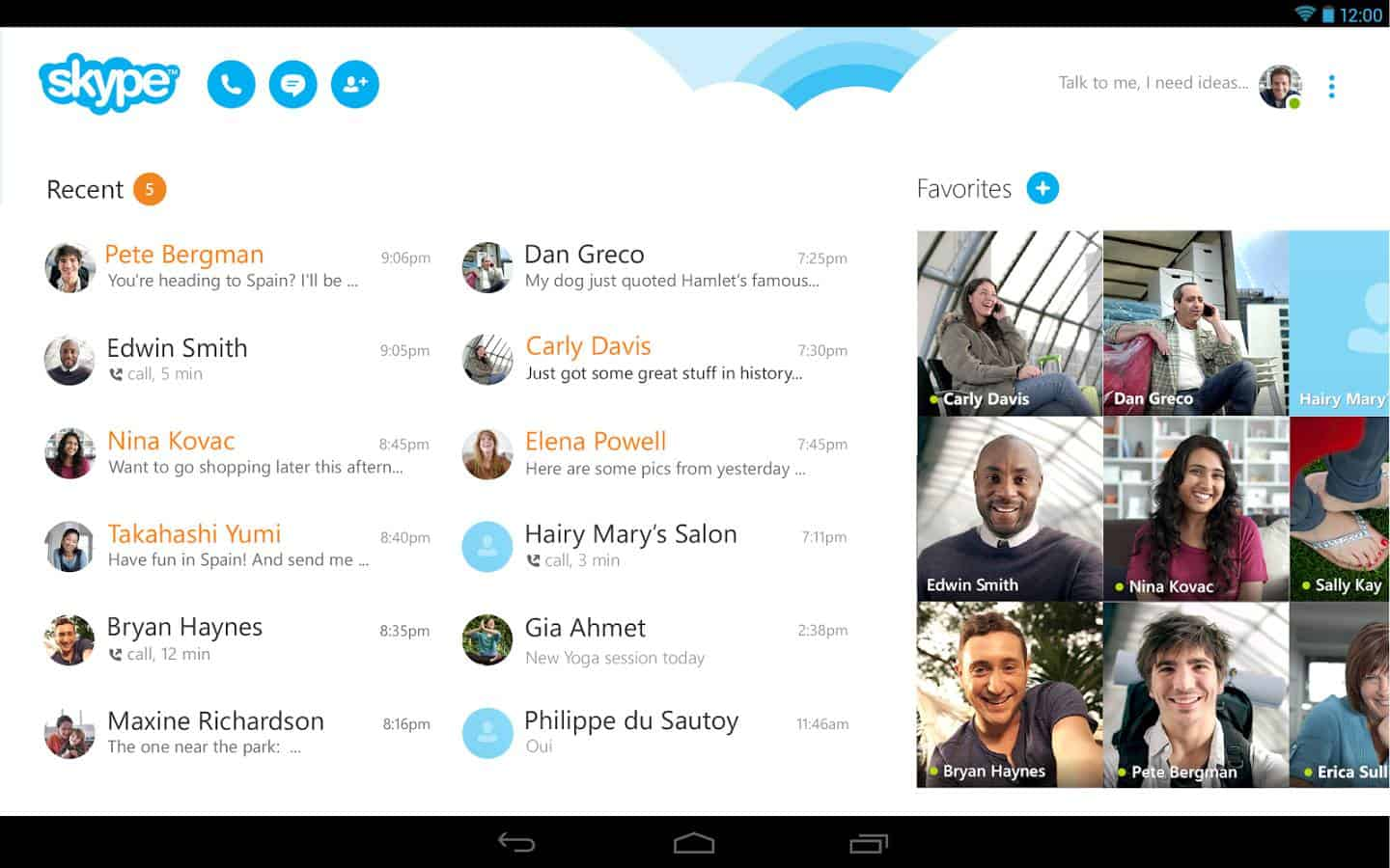 how to add someone on skype android
