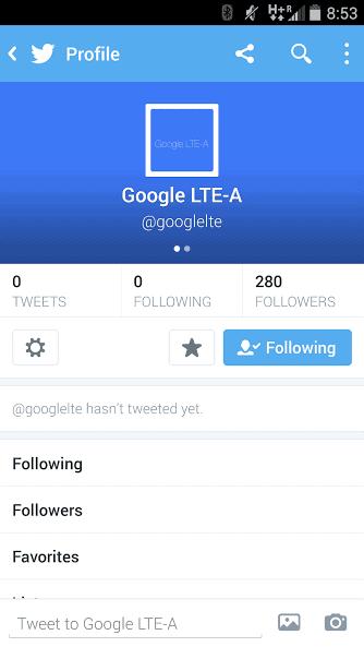 Google LTE-A