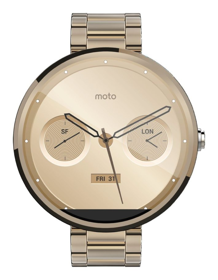 Deal: Moto 360 in Champagne Gold – $277