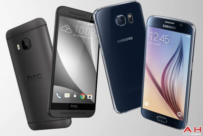HTC One M9 And Samsung's Galaxy S6 Flagships Are Now Available From EE