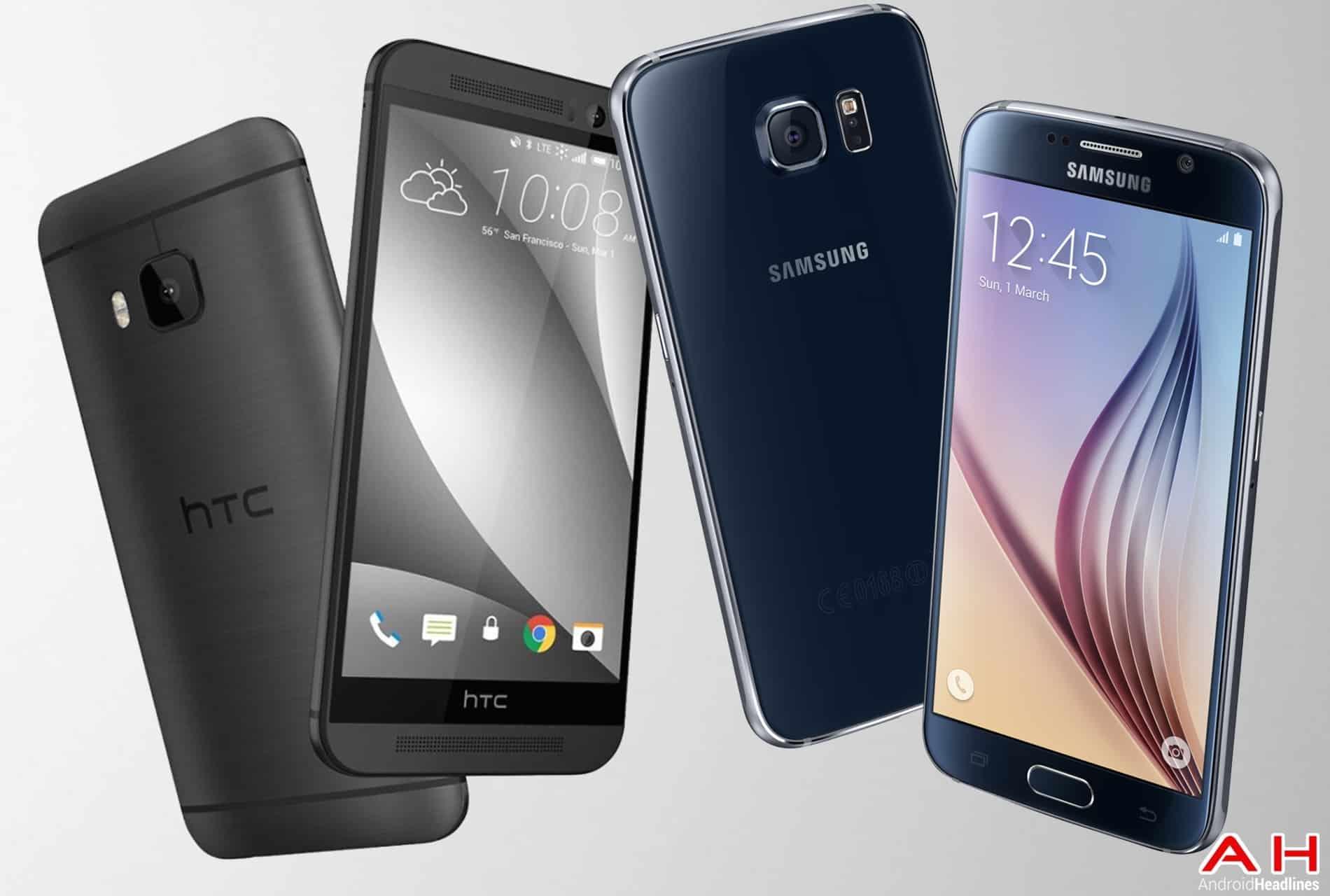 AH HTC ONE m9 vs Samsung Galaxy S6