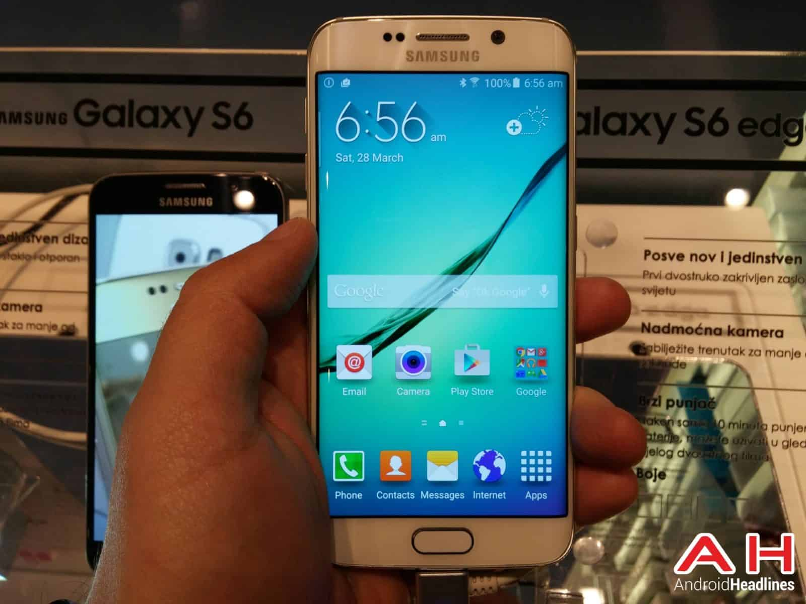 Samsung to Showcase the Galaxy S6 and Galaxy S6 Edge at Harrods