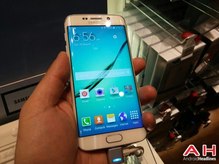 Samsung Galaxy S6 Edge Gets Put Through The 'Throw On The Floor' Endurance Test In New Video